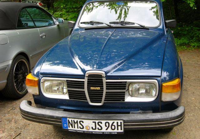 Friedrichruh: Noch ein Saab 96