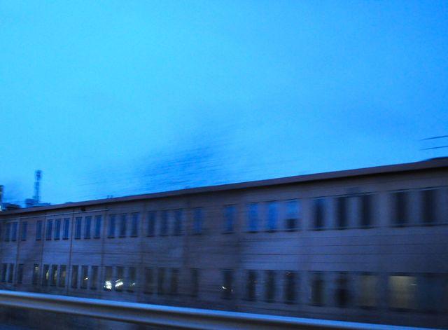 Antigua planta de transmisión de Saab Diciembre 2013