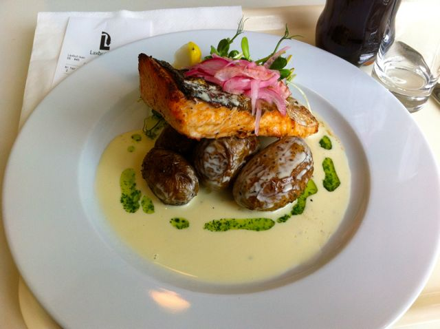 Welcome to Sweden: Delicious salmon in lax butiken
