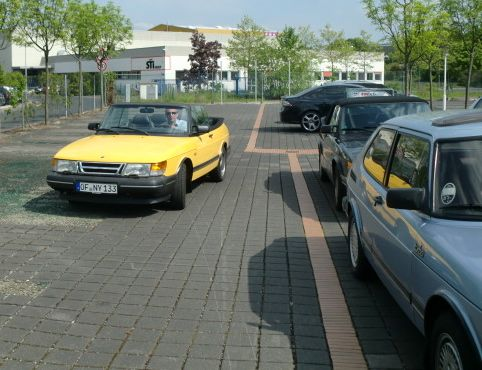 Saab 900 Cabriolet in Bad Homburg