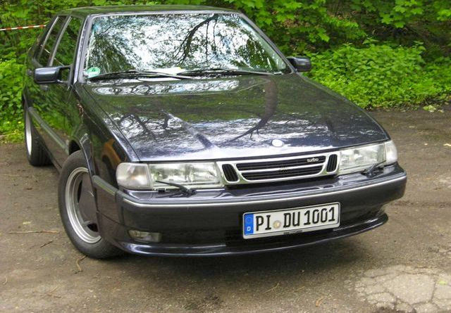 Saab 9000 in Friedrichsruh