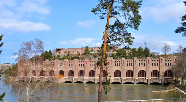 Industriedenkmal: Wasserkraftwerk