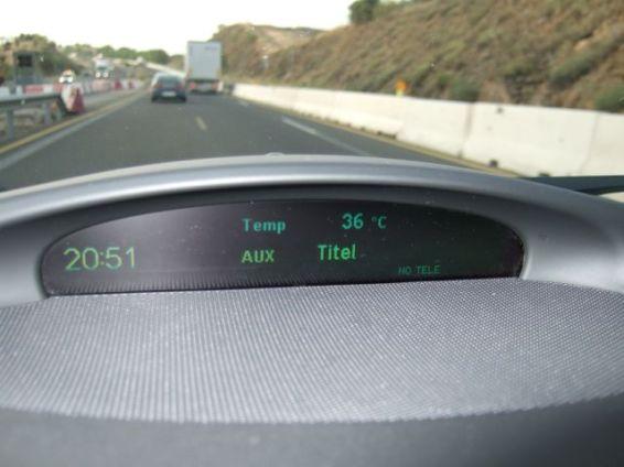 36 Grad in Spanien. Foto R. Röber
