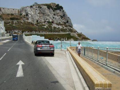 Saab 9-3 Cabriolet Gibraltar. Foto R. Röber