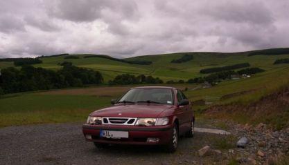 Saab 9-3 in Britain. Photo of Benjamin