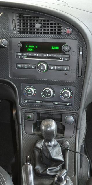 SAAB 9-5 Deer Carbon Leather Interior - SaabBlog.net
