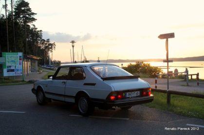 Saab zonsondergang. Foto Renato