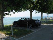 """Saab 9-3 Cabriolet """"Refrescarse en el lago de Constanza"""", foto de Günter"""