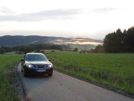 Saab 9-3 Sport Combination Impressions Bosque bávaro 2. Foto de Christian