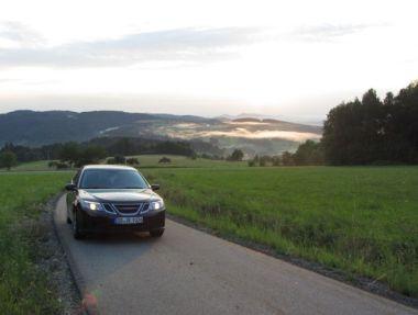 Saab 9-3 Sportkombi Impressionen Bayrischer Wald 2. Foto von Christian