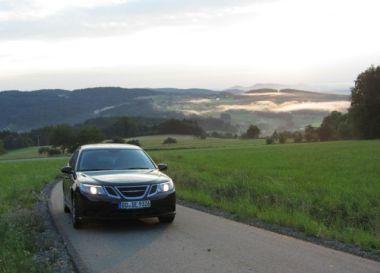 Saab 9-3 Sportkombi Impressionen Bayrischer Wald 3. Foto von Christian