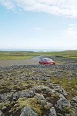 Saab 90 en Islandia. Foto de John.