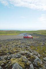 Saab 90 auf Island. Foto von Johannes.