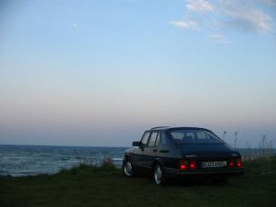 Saab 900 Mar do Norte. Foto Stefan.
