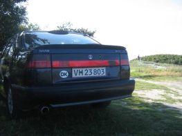 Saab 9000 en Samsoe. Foto de Hans-Joachim.
