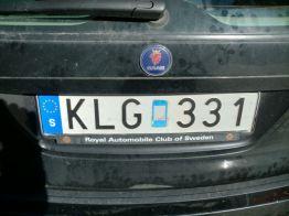 "Saab 9-5 ""Royale Automobile Club of Sweden"". Foto de Wolfgang."