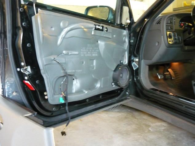 Fahrertür SAAB 9-5 2.3t SE, ohne Innenverkleidung