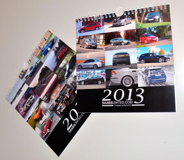 Calendário Saabsunited 2013 - a nova edição está em fase de planejamento.
