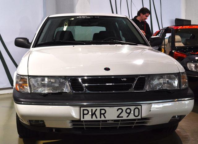 Saab 900 V6 в Музее Сааба