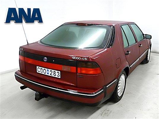 ... nog te hebben. Saab 9000 CS bij ANA in Zweden
