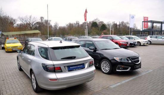 Raramente: esportes Saab 9-5 II na Alemanha