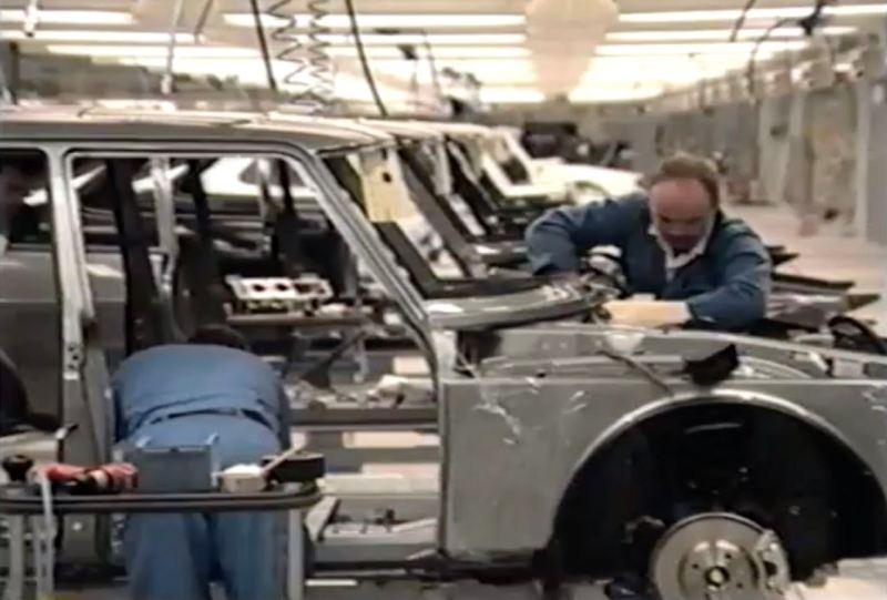 Saab Werk Malmö 1989