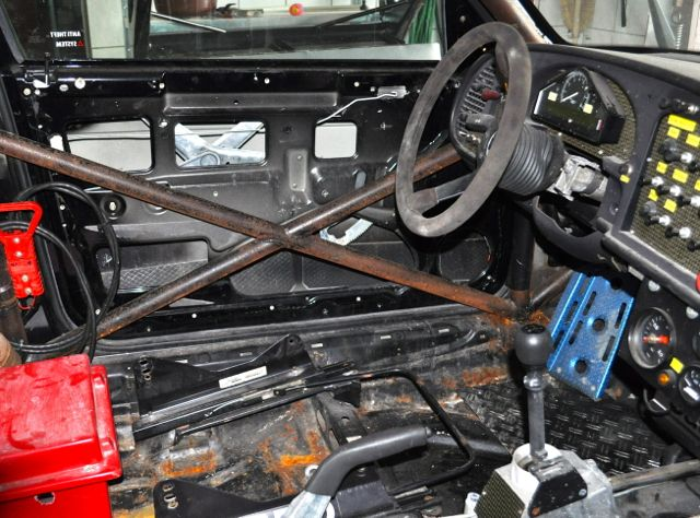 Fahrersitz ausgebaut aber vorhanden