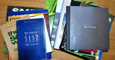 SAAB Literatur. Es gibt viele Saab Bücher. Hier ist nur ein Teil davon!
