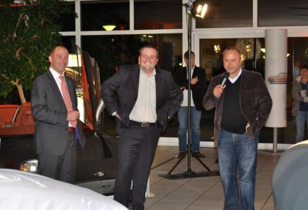 Jan-Philipp Schuhmacher gemeinsam mit Tobias Kaboth im Mobilforum Dresden