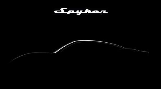 Spyker Einladung Autosalon Genf