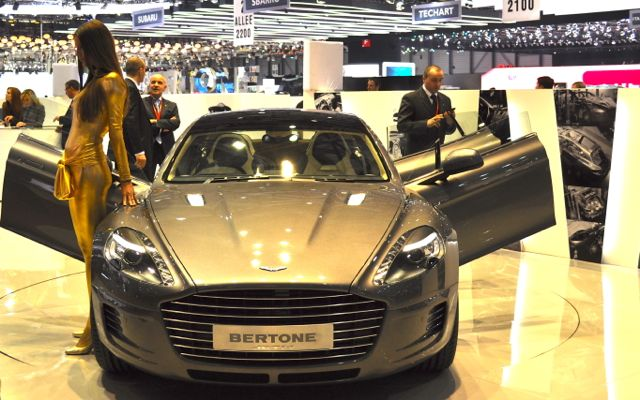 Birthday present: Bertone Aston Martin Rapide station wagon
