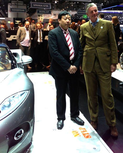 Victor Muller e Pang Qingnian - não é uma boa parceria?