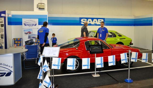 1. Deutscher Saab Club auf der Techno Classica