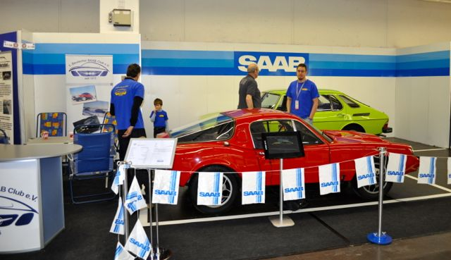 1. German Saab Club en el Techno Classica