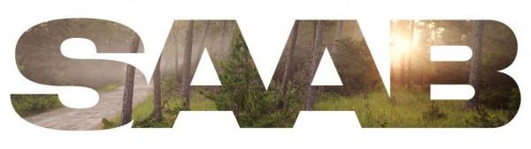 Saab Logo Wald