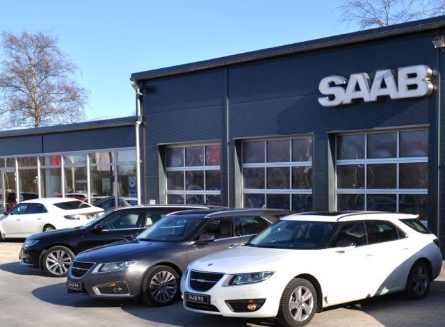 Lugar de encontro para o Festival Saab: Saab Service Kiel