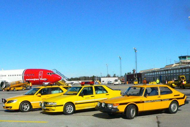 Proyecto Yellow Danger. Probador de fricción Saab.