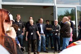 Endereço: Markus Lafrentz, Tom, Jens Ehrke da Saab Parts AB