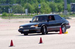 Ralf com seu 900 Turbo 16S em ação