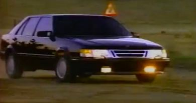 Always sporty? Saab 9000 Rally Ad 1991