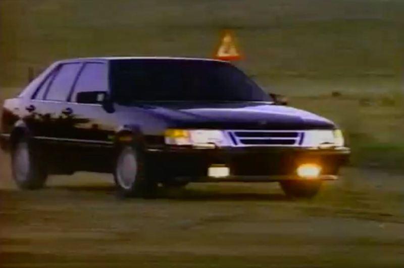 Immer sportlich? Saab 9000 Rally Ad 1991