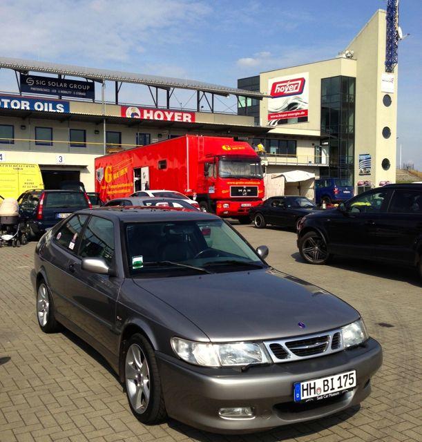 Saab 9-3 Aero mit Viggen Body Kit in Oschersleben