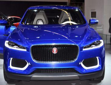 Jaguar C-X17. Studie med produktionsmöjligheter.