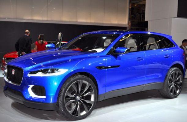 Jaguar C-X17. Den första möjliga SUV av varumärket.