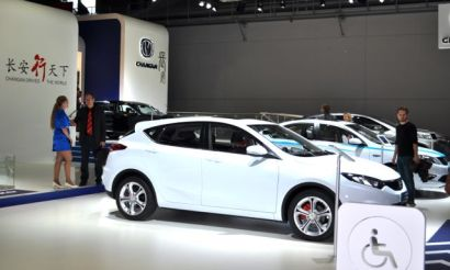 Changan dirige o World, stand na IAA