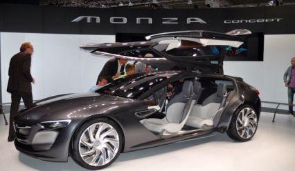 Monza Concept och - vi känner till fälgarna?