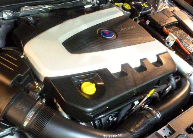 Ein Saab Motor. Nur in welchem Auto und welcher Motor.