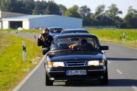Saab em ação