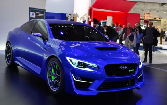 Turbo - Boxer - 4WD. Subaru WRX-koncept