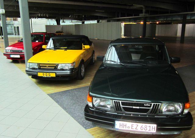 Nordi Car Classic - die ersten Saabs sind bereits vor Ort
